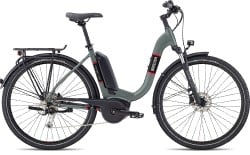 Step-Through Electric-Assisted Bicycle (E-bike)