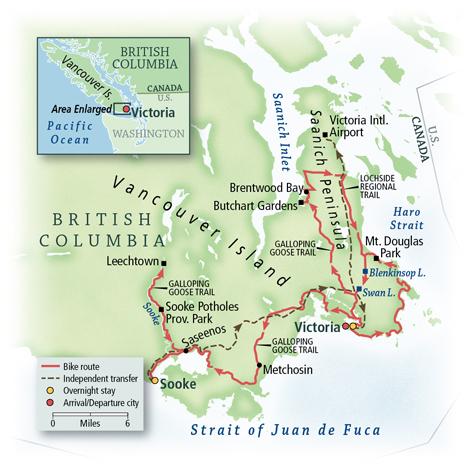 British Columbia: Vancouver Island, Victoria & the Saanich Peninsula 4