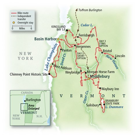 Vermont: Middlebury Countryside & The Lake Champlain Coast 4