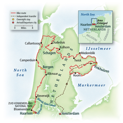 The Netherlands: Holland's Golden Age Towns & the North Sea 7